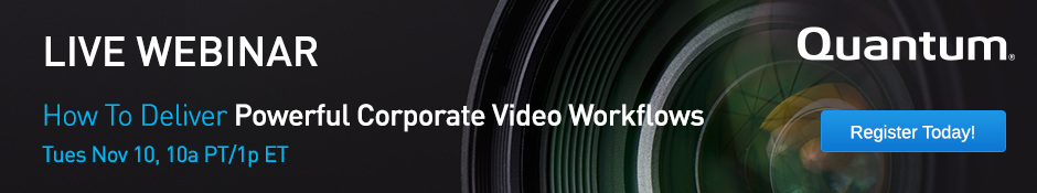 How to Deliver Powerful Corporate Video Workflows