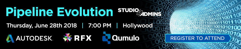 Pipeline Evolution w/Qumulo, Autodesk and RFX