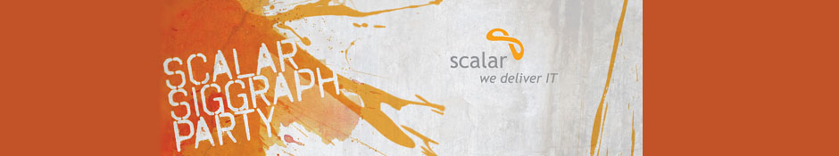 Scalar SIGGRAPH 2014 Party