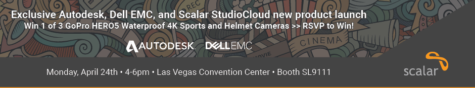Dell/EMC Isilon & Autodesk NAB Social at NAB