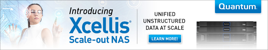 Xcellis NAS Launch