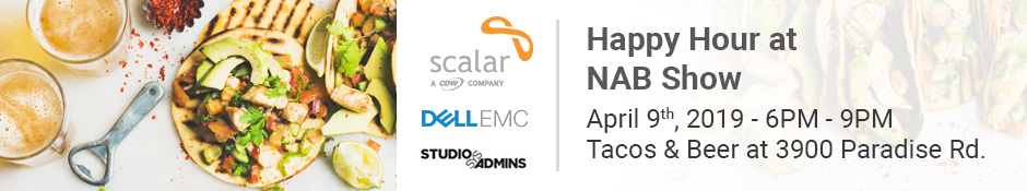 Scalar & Dell EMC Happy Hour @ NAB 2019