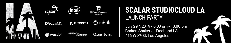 Scalar StudioCloud LA Launch Party
